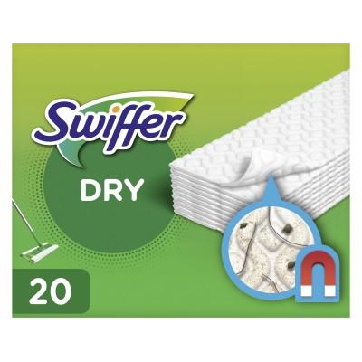 Swiffer Floor Handle Mop Dry Refills 20 st