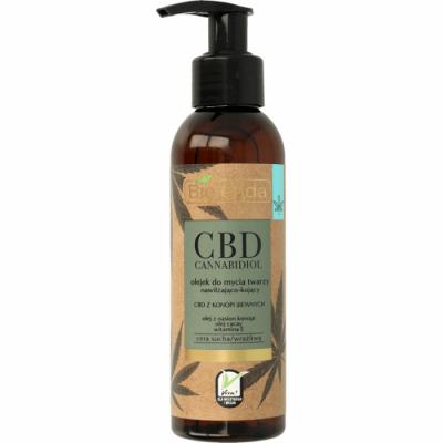 Bielenda CBD Cannabidiol Face Cleansing Oil For Dry & Sensitive Skin 140 ml
