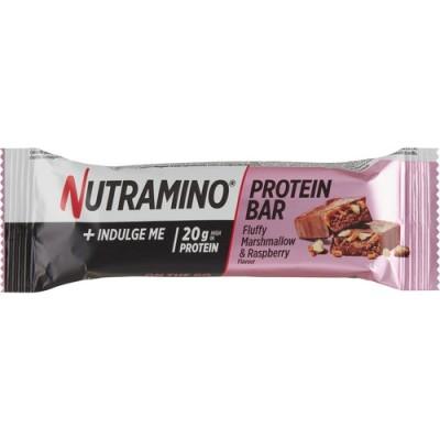Nutramino Protein Bar Fluffy Marshmallow & Raspberry 64 g