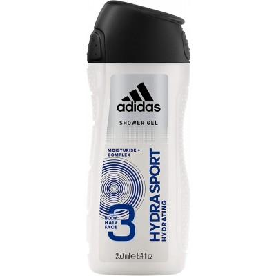 Adidas 3 in 1 Hydra Sport Showergel 250 ml