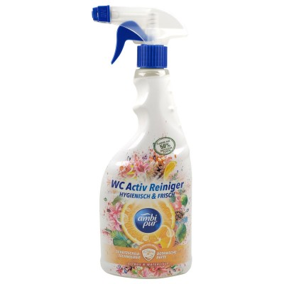 Ambi Pur Citrus & Waterlily Spray Toilet Cleaning 750 ml