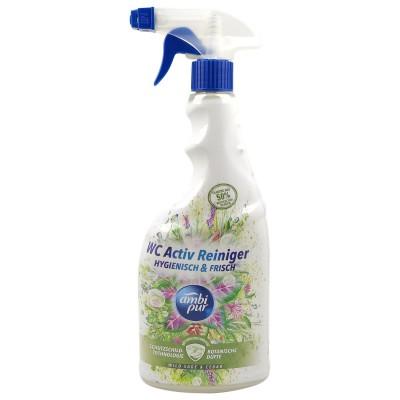 Ambi Pur Wild Sage & Cedar Spray Toilet Cleaning 750 ml