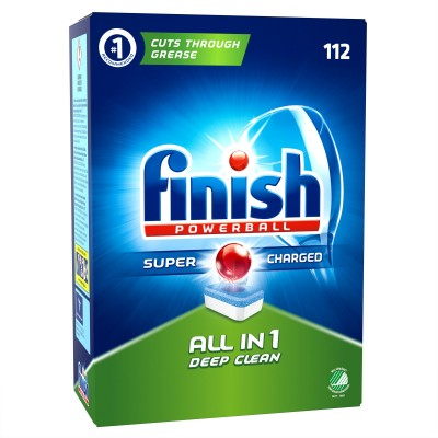 Finish Powerball All In 1 112 pcs