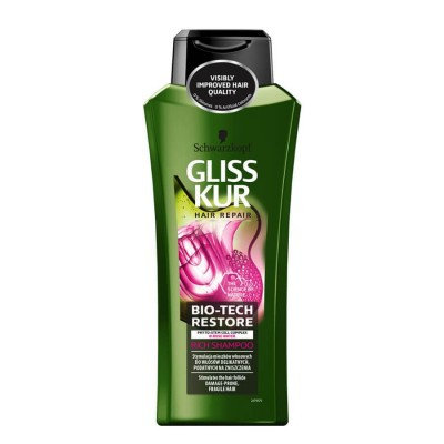 Schwarzkopf Gliss Kur Bio-Tech Restore Rich Shampoo 400 ml
