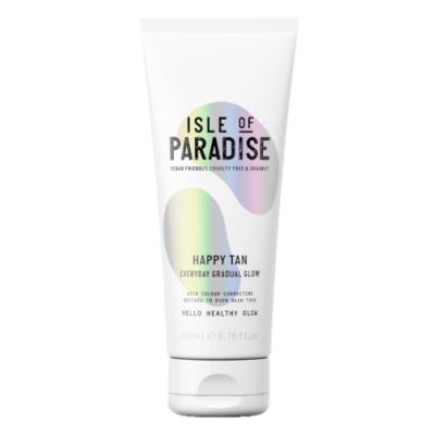 Isle Of Paradise Happy Tan Everyday Gradual Glow Tanning Lotion 200 ml