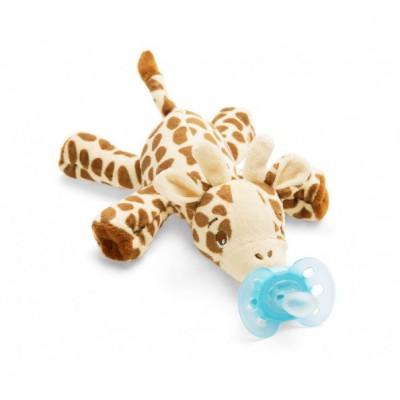 Philips Avent Snuggle Knuffelspeen Giraffe 1 st