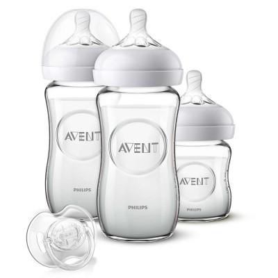 Philips Avent Natural Newborn Starter Set Glas 4 st