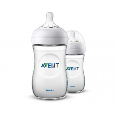 Philips Avent Natural Bottle 2.0 Duo 2 x 260 ml