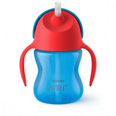 Philips Avent Bendy Straw Cup Blue 200 ml