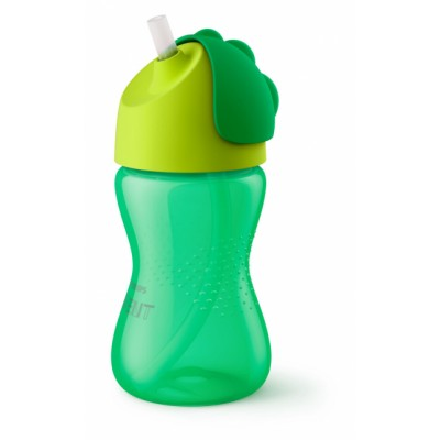 Philips Avent Bendy Straw Cup Green 300 ml
