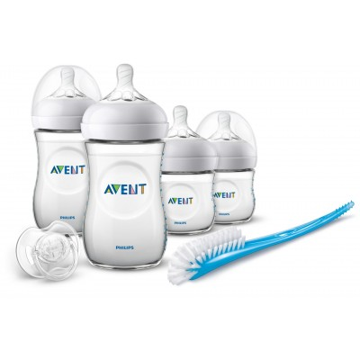 Philips Avent Natural Newborn Starter Gift Set Blue 6 st