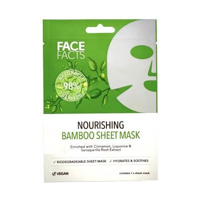 Face Facts Bamboo Sheet Masker 1 st