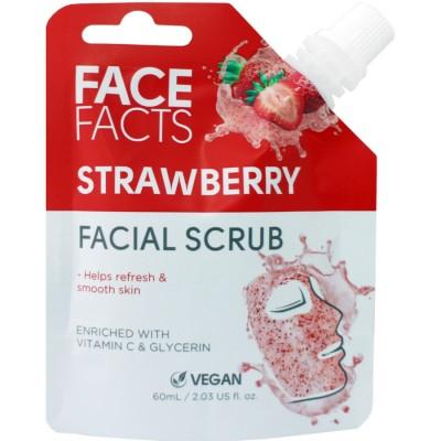 Face Facts Facial Scrub Strawberry 60 ml