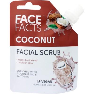 Face Facts Facial Scrub Coconut 60 ml