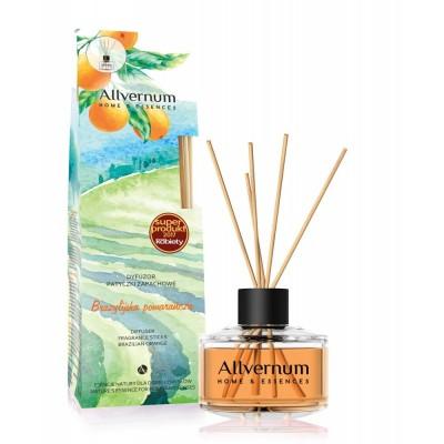 Allvernum Home Diffuser & Fragrance Sticks Brazilian Orange 50 ml