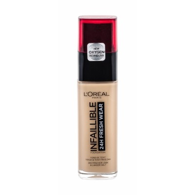 L'Oreal Infallible 24H Stay Fresh Foundation 125 Natural Rose 30 ml