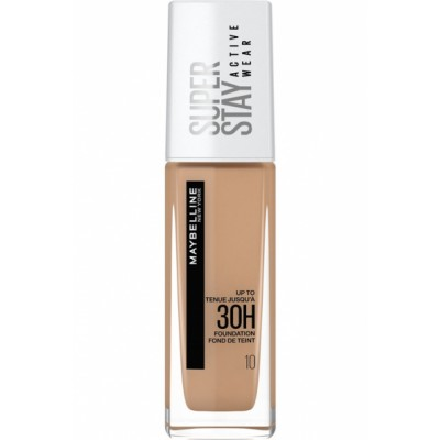 Maybelline Superstay 30H Active Wear Foundation 10 Ivory 30 ml