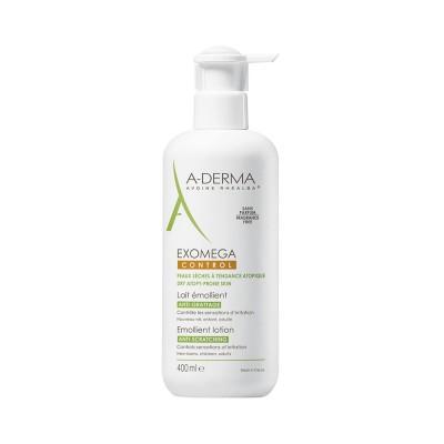 A-Derma Exomega Control Emollient Lotion 400 ml