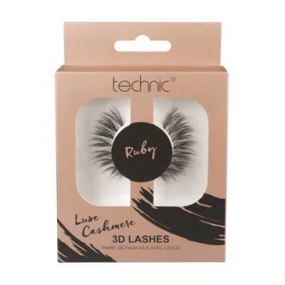 Technic Luxe Cashmere Lashes Ruby 1 par