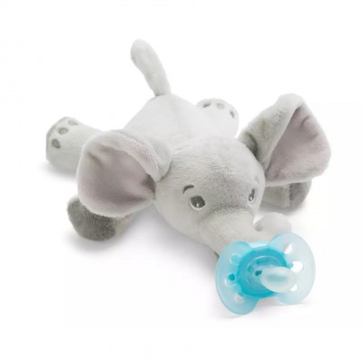 Philips Avent Snuggle Knuffelspeen Oliefant 1 st