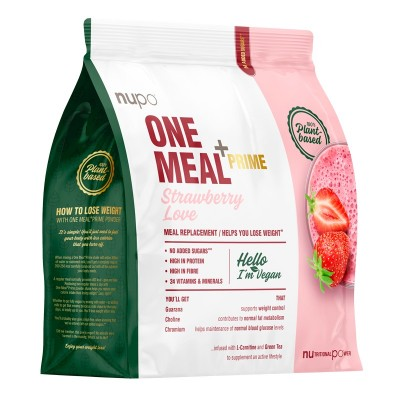 Nupo One Meal +Prime Strawberry Love 360 g