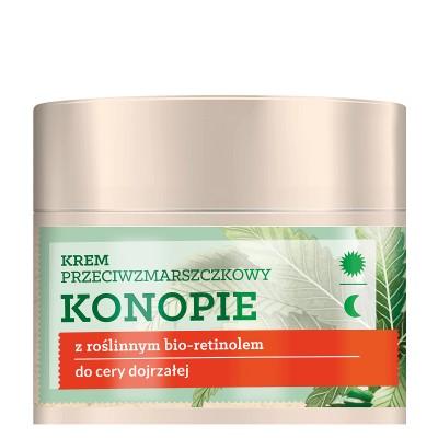 Herbal Care Anti Wrinkle Cream Hemp With Plant-Based Retinol 50 ml