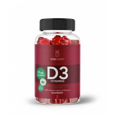 VitaYummy Vitamine D3 60 st