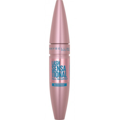 Maybelline Lash Sensational Mascara Black Waterproof 9,5 ml