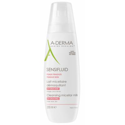 A-Derma Sensifluid Cleansing Micellar Milk 200 ml