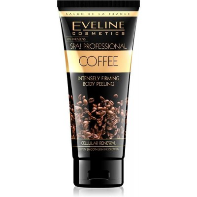 Eveline Spa! Professional Coffee Intensely Firming Body Peeling 200 ml