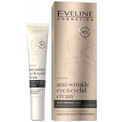 Eveline Organic Anti-Wrinkle Eye & Eyelid Cream With Organic Cica 20 ml