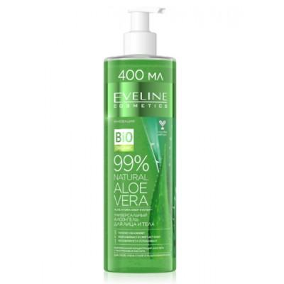 Eveline 99% Natural Aloe Vera Multifunctional Body & Face Gel 400 ml