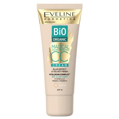 Eveline Magical CC Cream Bio Organic Aloe Vera 02 Natural 30 ml