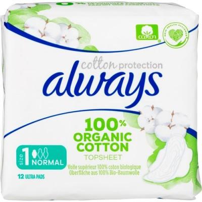 Always Cotton Normal Pads 12 stk
