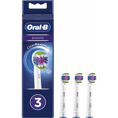 Oral-B 3D White Toothbrush Heads 3 st
