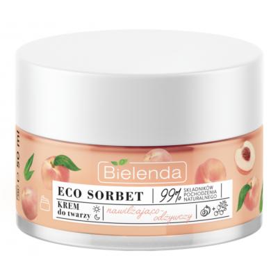 Bielenda Eco Sorbet Peach Face Cream Moisturizing And Nourishing 50 ml