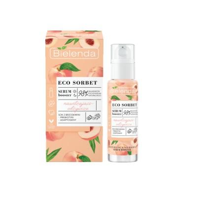 Bielenda Eco Sorbet Peach Serum Booster Moisturizing And Nourishing 30 ml