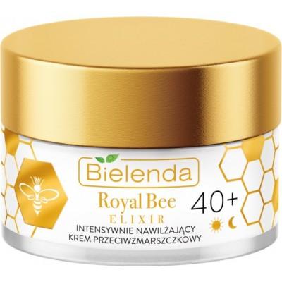 Bielenda Royal Bee Elixir Intensively Moisturizing Anti-Wrinkle Cream 40+ 50 ml