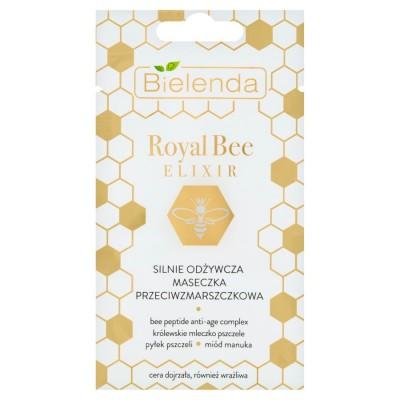 Bielenda Royal Bee Elixir Strongly Nourishing Anti-Wrinkle Face Mask 8 g
