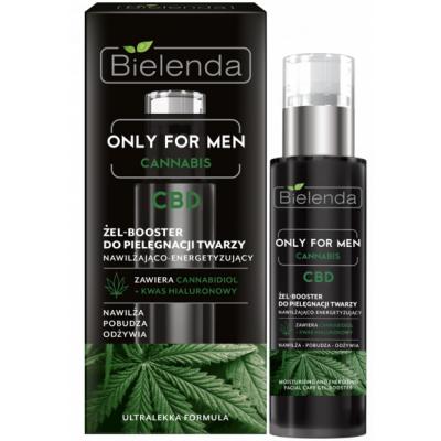Bielenda Only For Men CBD Moisturizing Facial Care Gel Booster 30 ml