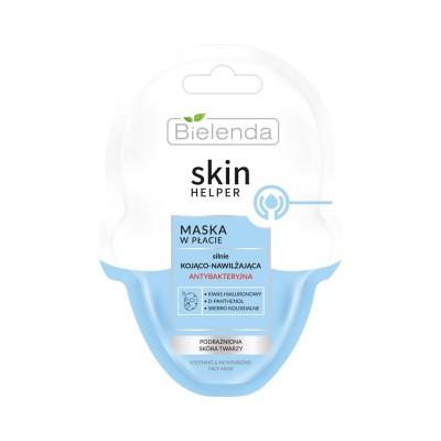 Bielenda Skin Helper Strongly Soothing And Moisturizing Face Sheet Mask 1 kpl
