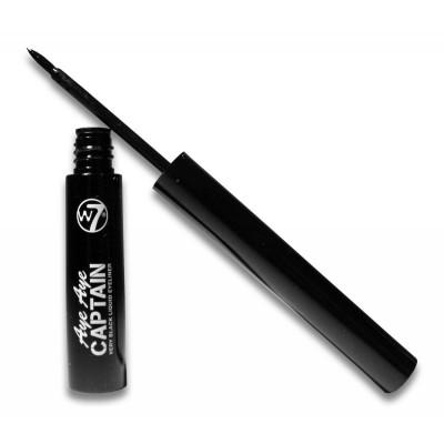 W7 Aye Aye Captain Liquid Eyeliner Very Black 5 ml