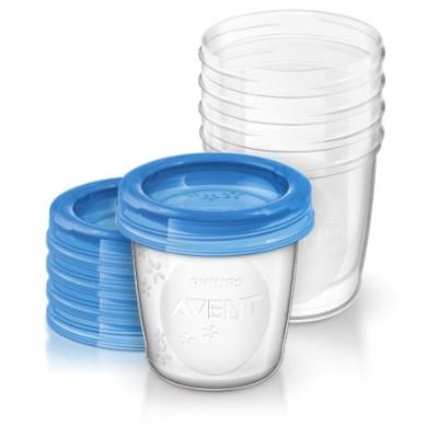 Philips Avent Bewaarbekers voor Babyvoeding 5 x 240 ml