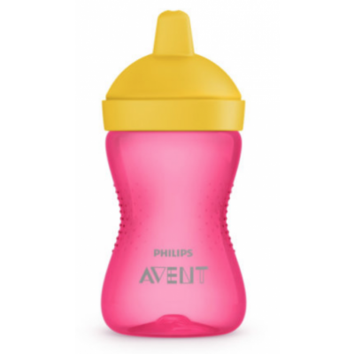 Philips Avent Hard Spout Cup Pink 1 kpl