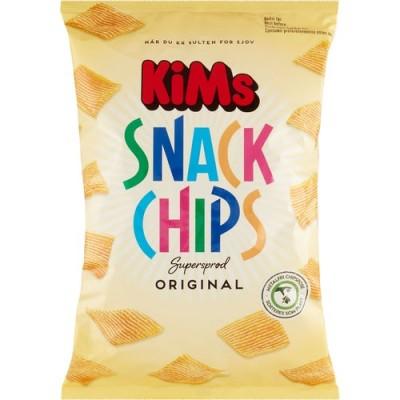 Kims Snack Chips Original 160 g