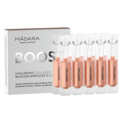 MÁDARA Hyaluronic Collagen Ampoules 10 x 3 ml