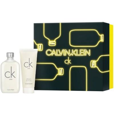 Calvin Klein CK One Gift Set EDT & body Wash 100 ml + 100 ml