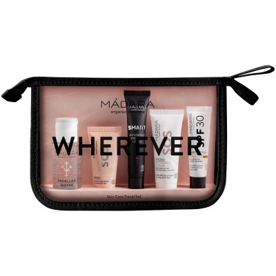 MÁDARA Wherever Skin Care Travel Set 5-in-1 1 x 50 ml + 1 x 12,5 ml + 1 x 15 ml + 1 x 20 ml + 1 x 10 ml