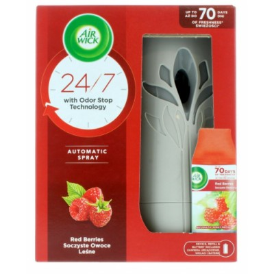 Air Wick Freshmatic Red Barries Set 250 ml + 1 st