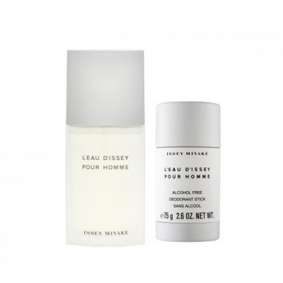 Issey Miyake L'eau D'issey Pour Homme EDT & Deodorant Stick 75 ml + 75 g